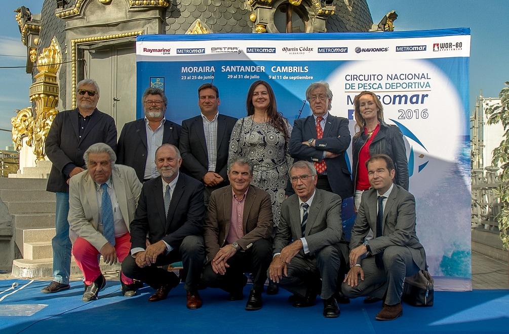 Presentación del Circuito Metromar en el Edificio Metrópolis de Madrid