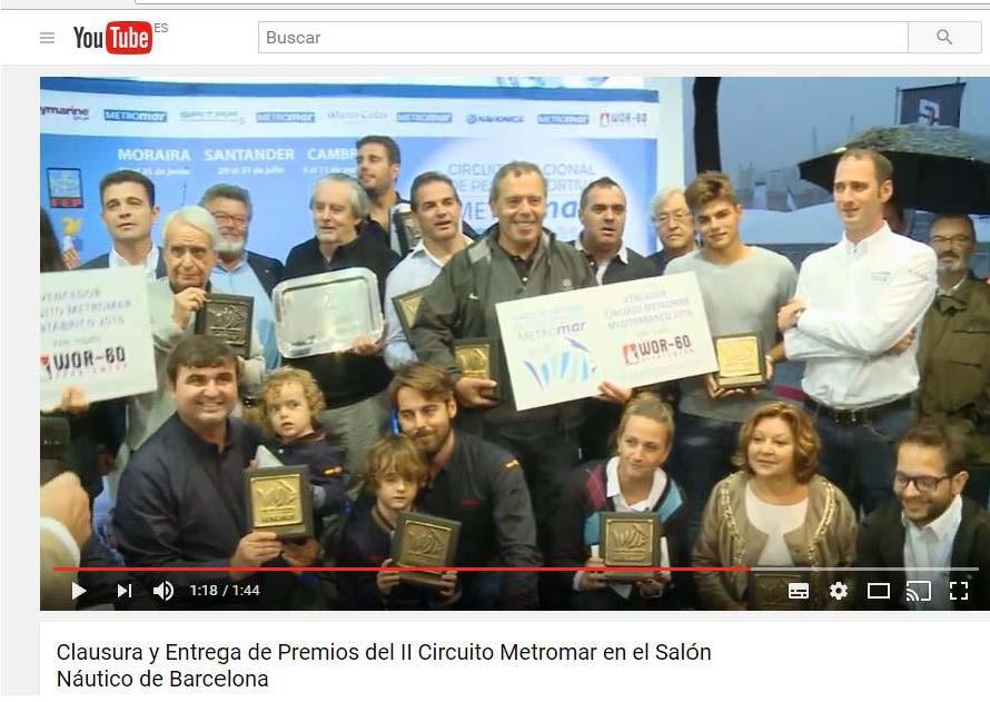 Premio circuito metromar